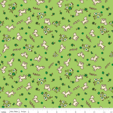 Riley Blake Toy Chest 3 Lamb Fabric Penny Rose