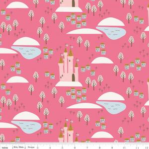 Guinevere Castles Riley Blake Cotton Fabric