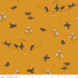 Calico Crow Crowded Crows Riley Blake Fabric