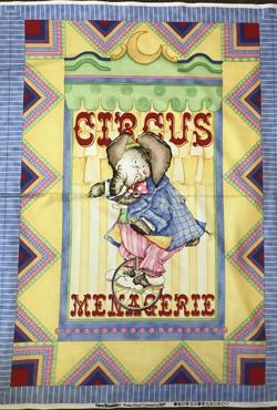 Circus Quilt Panel