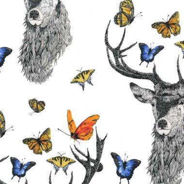 Butterfly Garden Micheal Miller Fabric