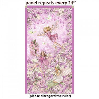 Petal Fairies Flower Fairies Michael Miller Panel