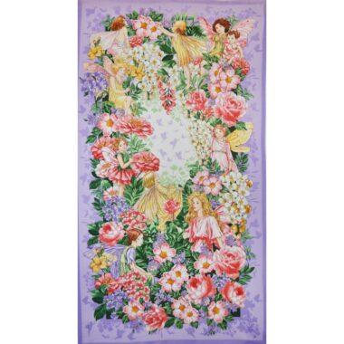 Flower Fairies Dreamland Fairy Panel Michael Miller