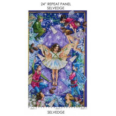 Enchanted Flower Fairy Panel