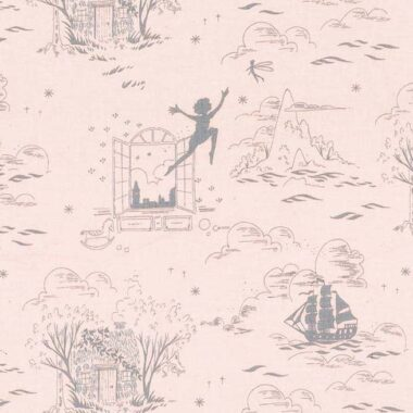 Second Star To The Right Peter Pan Sarah Jane Fabric