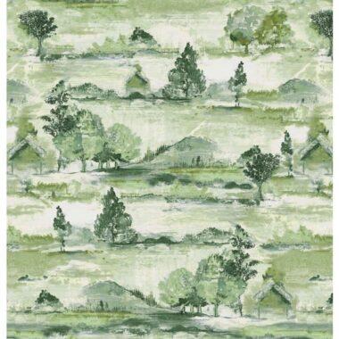 Tuscan Impression Landscape Beauty Michael Miller Cotton Fabric