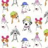 Dog Show Micheal Miller Fabric