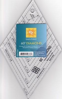 EZ Quilting 60 Diamond template
