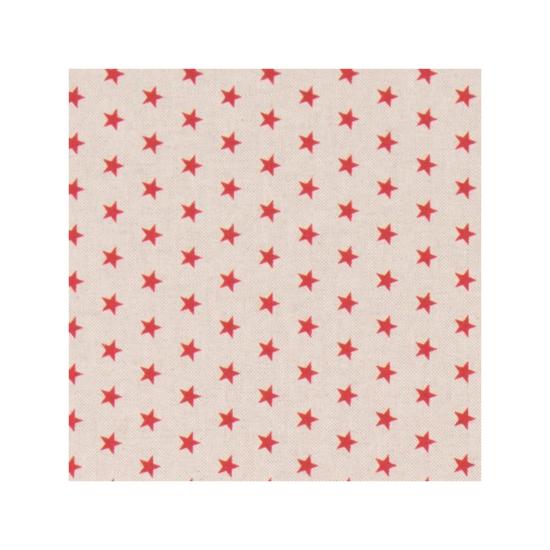 Stars Linen Cotton Fabric