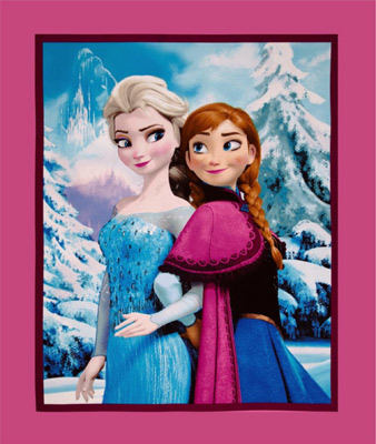 Frozen Sisters Panel