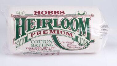 Hobbs Heirloom Premium Batting Full Size