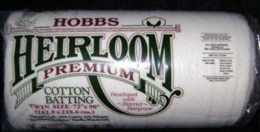 Hobbs Heirloom Twin Premium Batting