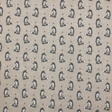 Shabby Fox Linen Look Canvas Fabric