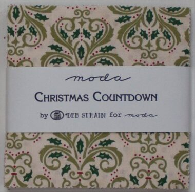 Christmas Countdown Charm Pack Moda