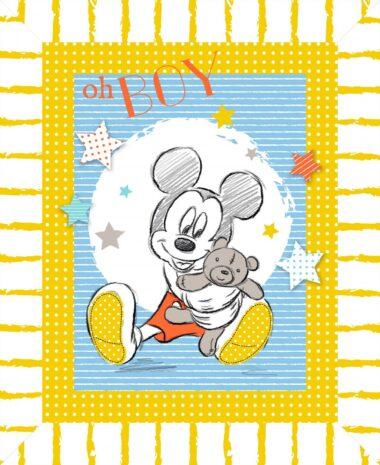Mickey Mouse Oh Boys Disney Panel