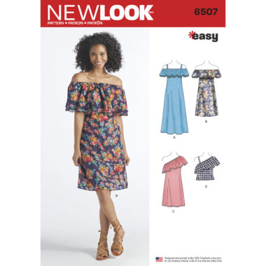 New Look Sewing Pattern 6507