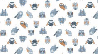 Stay Wild Owls 984 Dear Stella Fabric