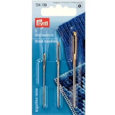 Prym Wool needles without point No. 1,3,5
