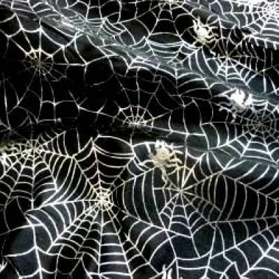 Halloween Spiders Web Foil