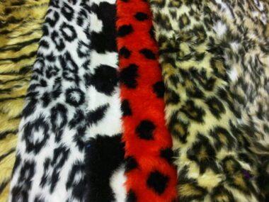 Animal Fur Fabric Fat Quarters