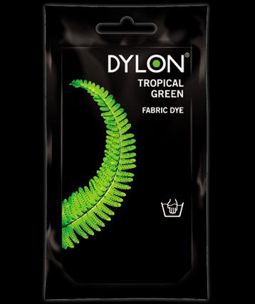 Dylon hand dye Tropical Green