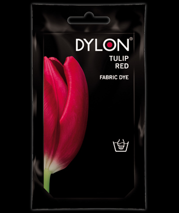 Dylon hand dye Tulip Red