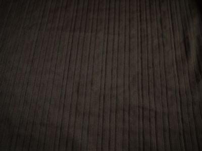 Chocolate Crinkle Lines Dress Fabric