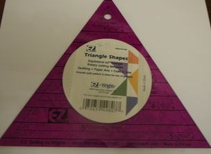 EZ Quilt Acrylic Triangle Patchwork Template