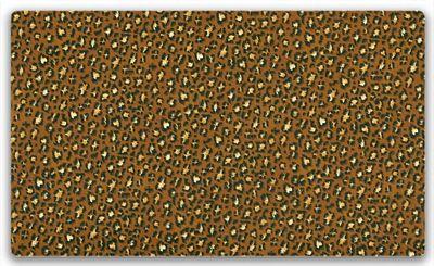 Makower Africa Leopard Dark Fabric