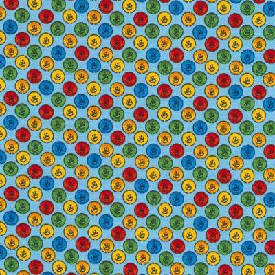 Abc Button Fabric