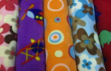 Patterned Fleece Scarf Length Pack