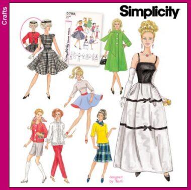 Simplicity 5785 Pattern