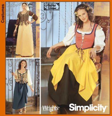 Simplicity 5582 Pattern