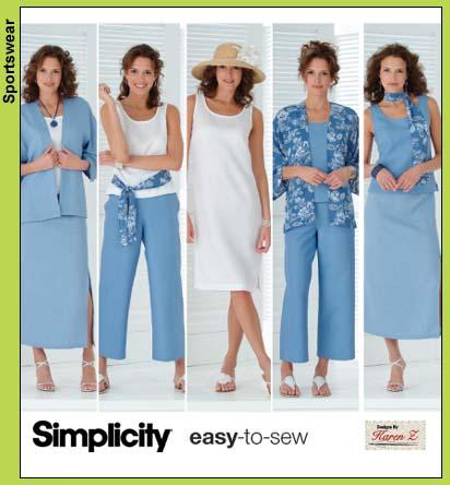 Simplicity 4552 Pattern
