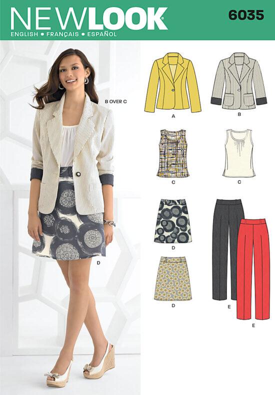 New Look 6035 Pattern
