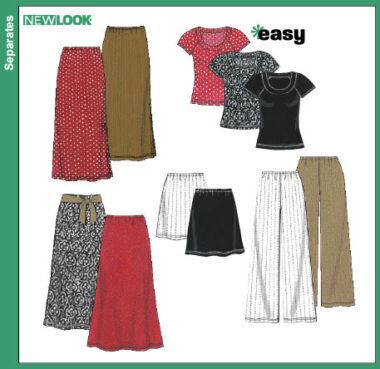New Look  6762 Pattern