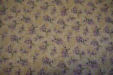 Victorias Guest House Lines Fabric Quilt