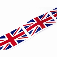 Union Jack Acetate Ribbon