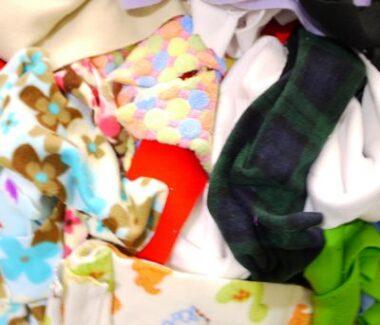 Fleece Ends 1 Kilo Bundle