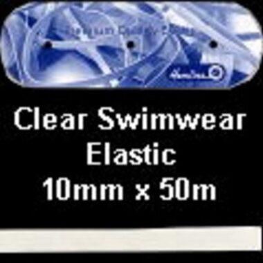Clear Swimwear Elastic 10mm