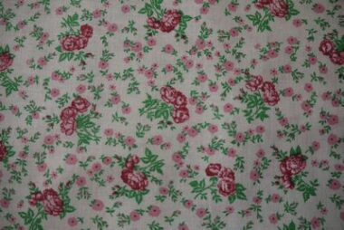 Pink Rose Bunch Craft Cotton