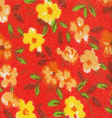 ORANGE FLOWERS 2204