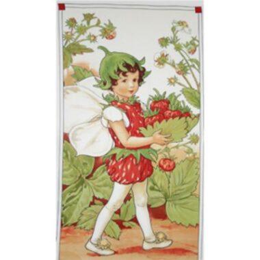 Flower Fairies Strawberry Fairie Panel
