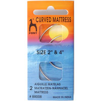 Curved Mattress Needles 2 And 4 inch Pack