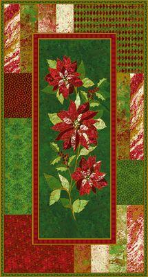 Christmas Glistening Christmas 11 Panel