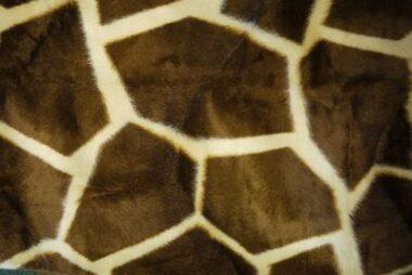 Animal Print Velboa Pony Furs