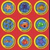 Under The Sea Circles Fabric Quilt
