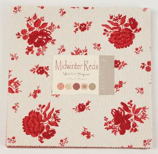 Minick And Simpson MidWinter Reds Layer Cake