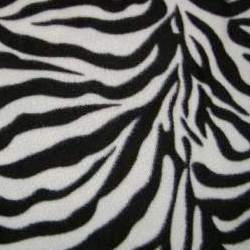 Zebra Polar Fleece