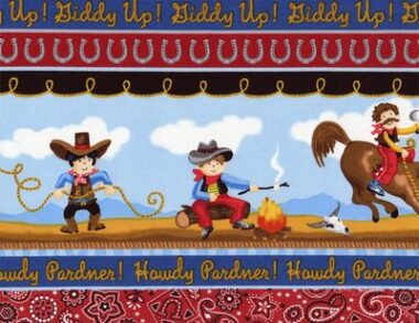 Cowboy Time Gail Cadden Timeless Treasures